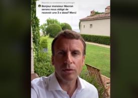 Când şi cui i se va administra în Franţa a treia doză de vaccin. Macron face campanie pro-vaccinare pe Instagram şi TikTok