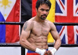Un fost mare boxer candidează la funcția de președinte al țării sale