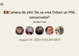 De ce vrea Orban electoratul AUR? Discutăm în Camera de știri. Intră și tu!