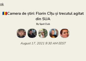 Camera de știri revine în forță! Azi vorbim despre Florin Cîțu și trecutul său agitat din SUA. Intră și tu!