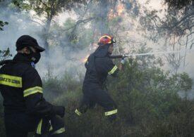 Pompierii români care s-au oferit voluntari să lupte cu incendiile din Grecia (Galerie foto)