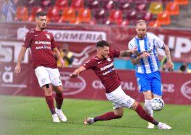 Liga 1 | Rapid a fost învinsă în prelungiri de Universitatea Craiova