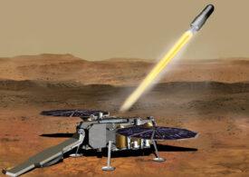 Roverul de la NASA a eşuat în prima tentativă de a colecta roci de pe Marte