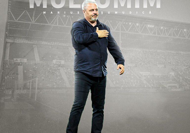 CFR Cluj l-a demis pe Marius Șumudică și a anunțat motivul acestei decizii - oficial