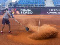 Principala favorită a turneului WTA de la Cluj-Napoca, eliminată încă din runda inaugurală