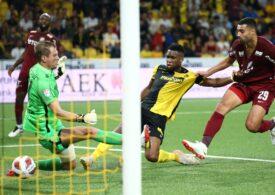 CFR Cluj a fost eliminată din preliminariile Ligii Campionilor