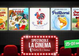 Poveștile copilăriei ajung pe marile ecrane de la Cineplexx cu Teatru la Cinema