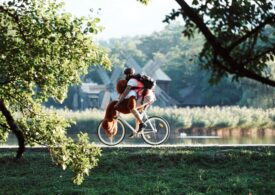 500 de oameni au venit pe bicicletă la Astra Film Festival