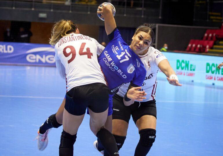 Prima victorie pentru CSM București în actuala ediție de Liga Campionilor