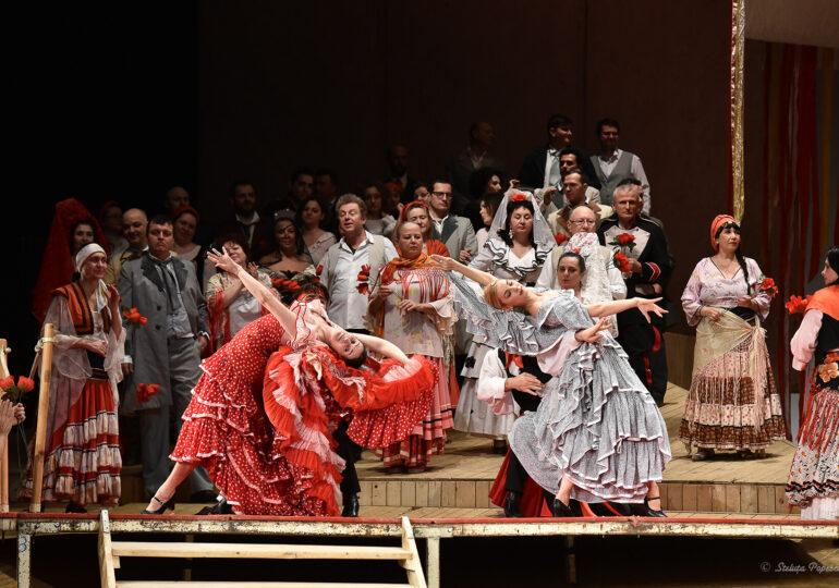 """Emanuela Pascu, invitată în spectacolul """"Carmen"""" de pe scena Operei Naționale București"""