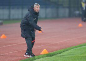 Dan Petrescu, extrem de nervos după eșecul lui CFR Cluj la Botoșani, chiar la revenirea sa pe bancă: Un rezultat mincinos