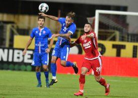 Liga 1: Dinamo ajunge la al șaselea eșec consecutiv