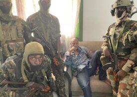 Lovitură de stat în Guineea: președintele a fost capturat de un comando de militari răzvrătiți