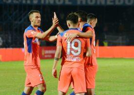 Liga 1: FCSB se impune cu ceva emoții pe teren propriu în fața Academicii Clinceni