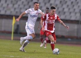 Liga 1: FCSB o umilește pe Dinamo în marele derbi cu un scor de tenis