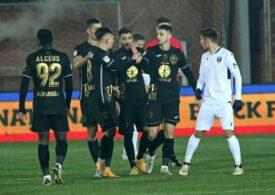 Liga 1: FC Voluntari obține o victorie utilă la Gaz Metan Mediaș