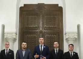 USR PLUS își retrage sprijinul politic pentru Florin Cîțu și cere negocieri pentru desemnarea unui alt premier