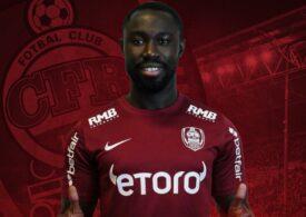 CFR Cluj a transferat un mijlocaș ghanez