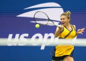 Simona Halep este eliminată în optimile de finală de la US Open, după un meci tensionat cu Elina Svitolina