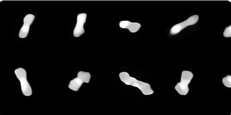 Unul dintre cei mai ciudați asteroizi care există. Are forma unui os. Și nu oricare!