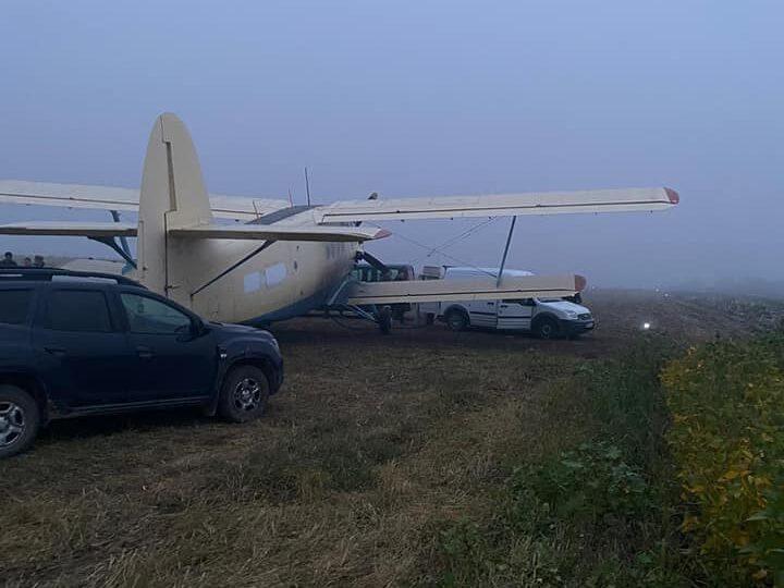 Un avion de contrabandă care a adus ţigări din Ucraina în România a fost capturat peste Prut