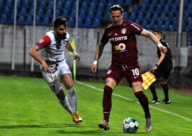 Liga 1 | CFR Cluj calcă strâmb la primul meci de la revenirea lui Dan Petrescu