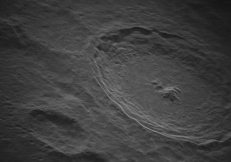 Aceasta este imaginea la cea mai mare rezoluție realizată vreodată cu Luna, de pe Pământ