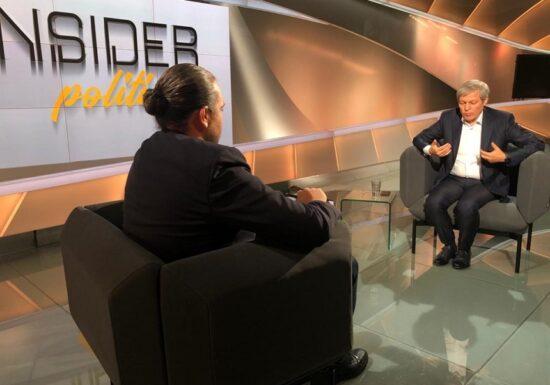 Cioloş: Nu există nicio şansă să continuăm guvernarea cu Florin Cîţu premier - Ce spune despre AUR