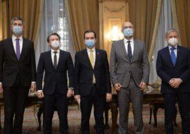 Ședința coaliției s-a încheiat fără nicio concluzie. Cioloș și Barna vor da declarații  la Parlament
