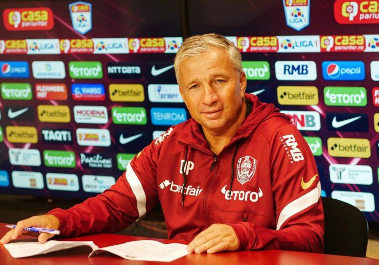 Dan Petrescu a trecut un jucător pe lista neagră de la CFR Cluj