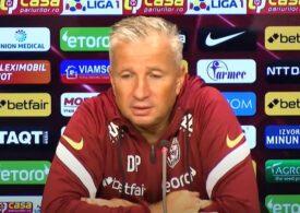 Dan Petrescu, critici către un jucător de la CFR Cluj: O să joace când o să muncească mai mult