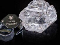 Un diamant neșlefuit de 1.175 carate a fost prezentat la New York. Vine din Botswana și ar putea fi unul din cele mai mari diamante descoperite vreodată