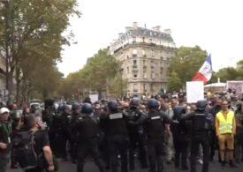 Proteste cu zeci de mii de oameni în Franţa, Austria şi Turcia, faţă de măsurile anti-COVID (Video)