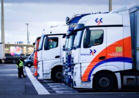 Soluțiile Guvernului britanic nu rezolvă criza de șoferi de camion: Sezonul cumpărăturilor de Crăciun este în pericol
