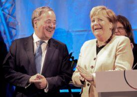 Alegeri în Germania: Candidatul conservatorilor lui Merkel comite o gafă la vot (Video)