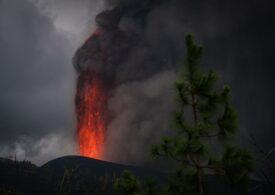Norul de cenușă provocat de erupţia vulcanului din La Palma traversează România