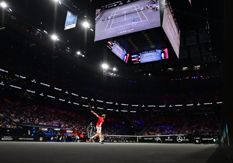 Selecţionata de tenis a Europei a surclasat reprezentativa Restului Lumii