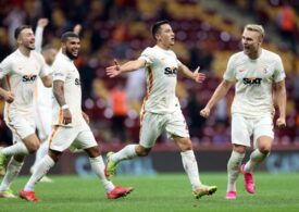 Moruțan a marcat un gol superb pentru Galatasaray