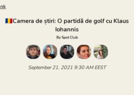 O partidă de golf cu Klaus Iohannis. Ce părere ai? Intră să discutăm în Camera de știri