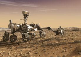 Roverul Perseverance este perseverent: A reușit să ia o mostră de rocă de pe Marte