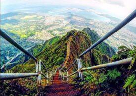 Localnicii din Hawaii vor să desfiinţeze faimoasa Scară către Rai