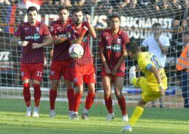 Steaua, la prima înfrângere în Liga a 2-a