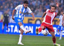 Universitatea Craiova a făcut scor cu Dinamo în Liga 1