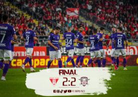 Liga 1 | Remiză spectaculoasă între UTA și Rapid