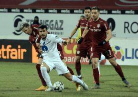 Liga 1: CFR Cluj întoarce partida cu Gaz Metan și rămâne un lider autoritar al clasamentului