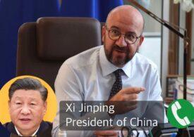 UE şi China vor intensifica dialogul şi vor organiza un summit, anunță Charles Michel