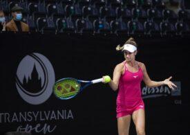 Trei românce intră în competiția de simplu luni la WTA Transylvania Open de la Cluj-Napoca