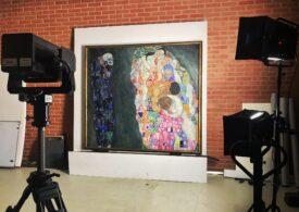 Google prezintă o expoziție virtuală dedicată lui Gustav Klimt și un experiment inedit de recuperare a operelor sale pierdute