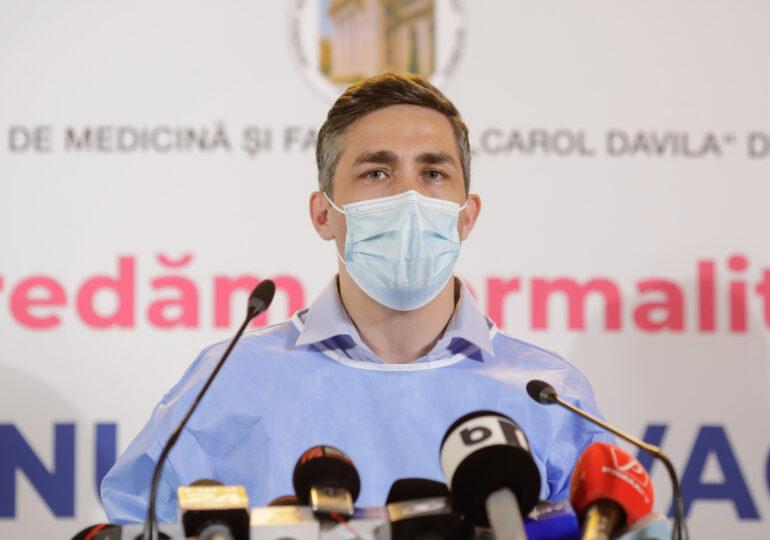 Valeriu Gheorghiță explică de ce testul de anticorpi nu e relevant pentru a decide dacă să faci sau nu doza 3 de vaccin