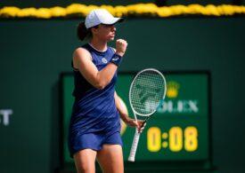 Calificare en-fanfare pentru Iga Swiatek în optimile Indian Wells, după o demonstrație de tenis
